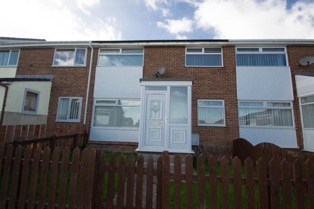 Thumbnail Terraced house to rent in Pontop View, Consett