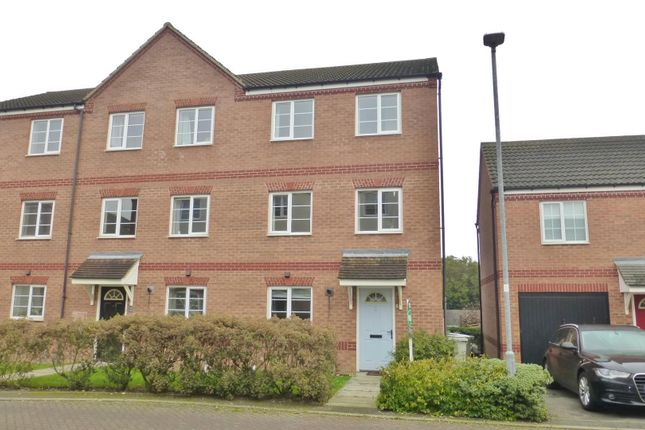 Thumbnail Town house to rent in The Sidings, Oakham