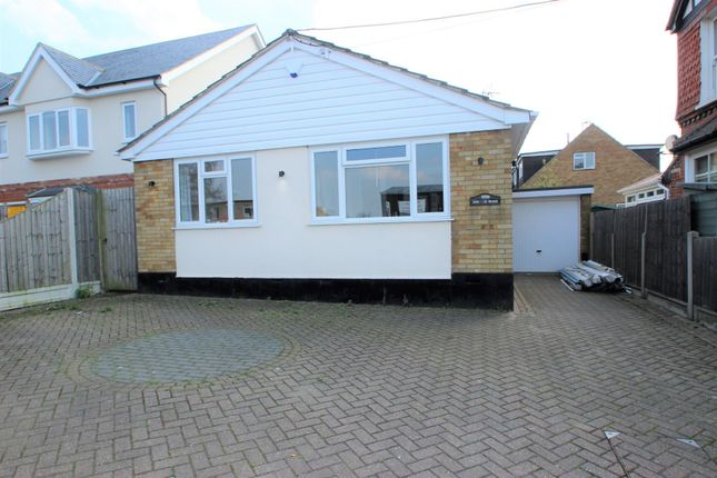 Thumbnail Detached bungalow for sale in Lower Church Road, Benfleet