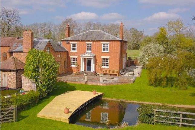 Thumbnail Detached house for sale in Oddingley Lane, Crowle, Worcester, Worcestershire