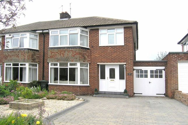 Thumbnail Property to rent in Briardene Crescent, Gosforth, Newcastle Upon Tyne