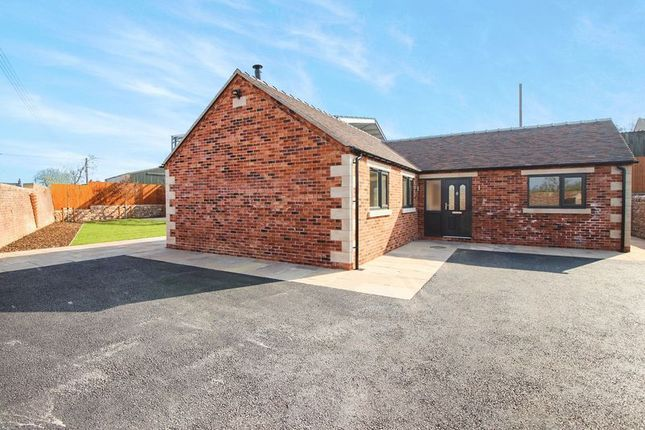 Thumbnail Detached bungalow for sale in Ostlers Lane, Cheddleton, Near Leek.