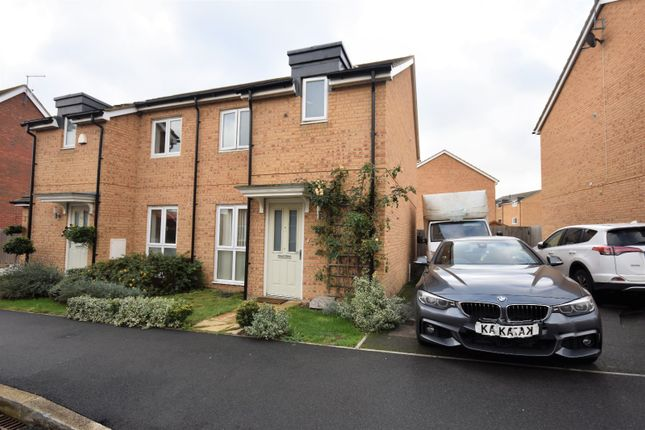Thumbnail Semi-detached house to rent in Greensleeves Drive, Aylesbury, Buckinghamshire