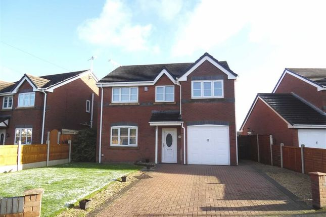 Thumbnail Detached house to rent in The Brackens, Buckley, Flintshire