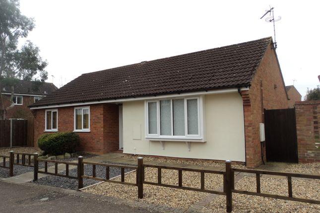 Thumbnail Detached bungalow for sale in Kipling Way, Stowmarket