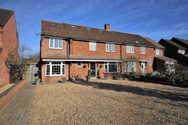 5 bed semi-detached house for sale in Rousbury Road, Stewartby, Bedford