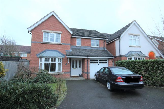 Thumbnail Detached house to rent in Woodall Close, Chessington