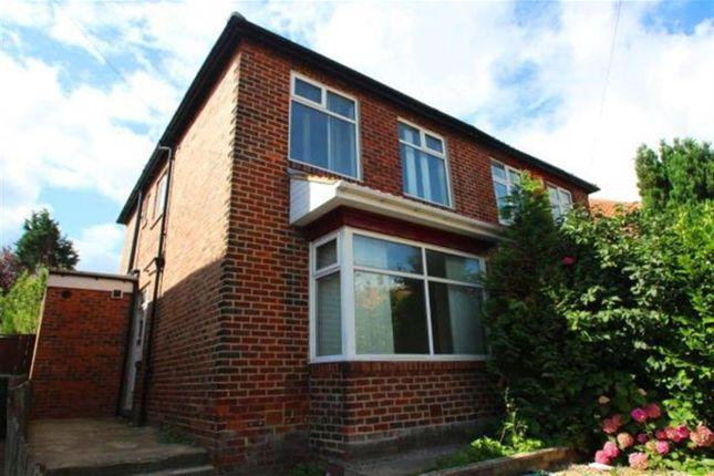 Thumbnail Terraced house to rent in Hadrian Road, Fenham, Newcastle Upon Tyne