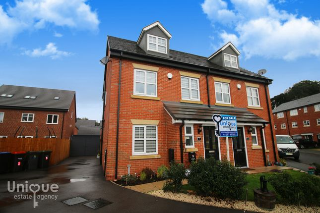 Thumbnail Semi-detached house for sale in Gardeners Close, Pilling, Preston
