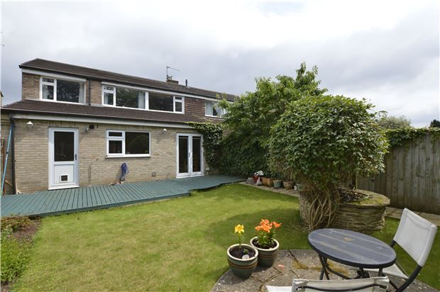Thumbnail Semi-detached house for sale in Burrough Way, Winterbourne, Bristol