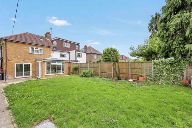 Thumbnail Semi-detached house for sale in The Crescent, Acton, London