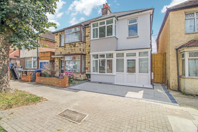 Thumbnail 4 bed semi-detached house for sale in Beaumont Avenue, Sudbury, Wembley