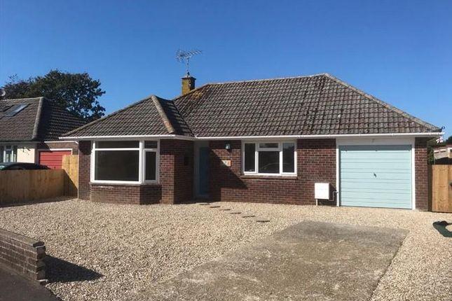 Thumbnail Detached bungalow for sale in Binghams Road, Crossways, Dorchester