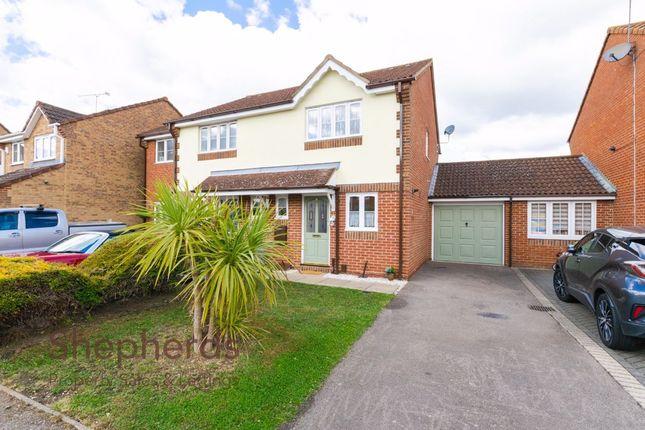 Thumbnail Semi-detached house for sale in Haddestoke Gate, Cheshunt, Hertfordshire