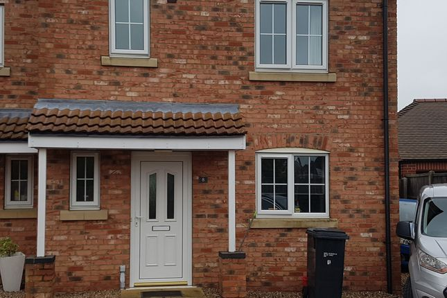 Thumbnail Semi-detached house to rent in Fen, Billinghay
