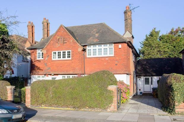 Thumbnail Detached house for sale in The Ridgeway, Golders Green, London