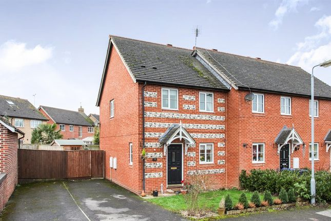 3 bed end terrace house for sale in Beauchamp Drive, Amesbury, Salisbury