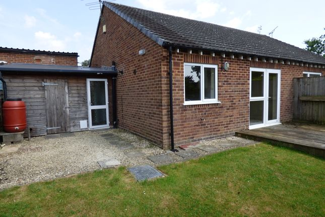 Thumbnail Semi-detached bungalow for sale in Wessex Way, Gillingham