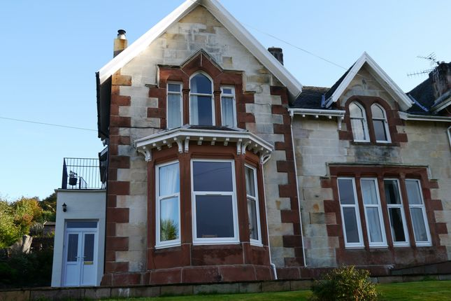 Thumbnail Maisonette for sale in 2, Crichton Road, Rothesay, Isle Of Bute