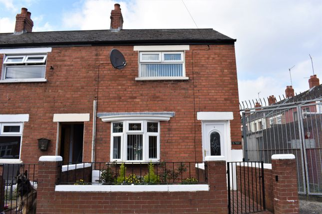 Thumbnail End terrace house for sale in Rodney Drive, Belfast