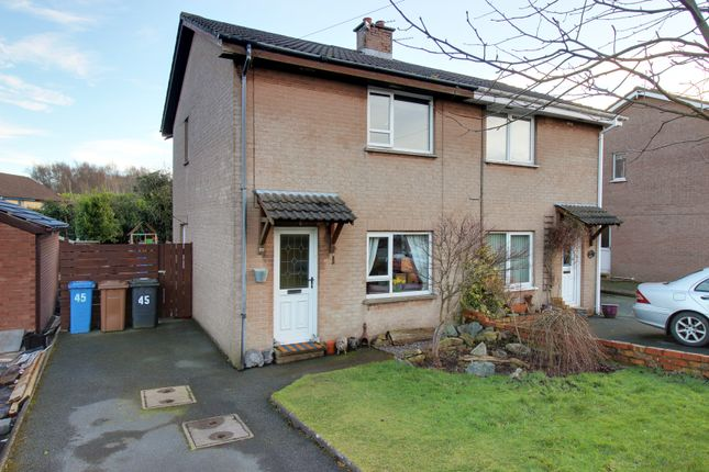 Thumbnail Semi-detached house for sale in East Mount, Newtownards