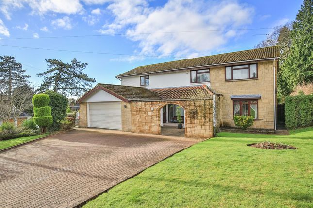 Thumbnail Detached house for sale in Coedydafarn, Lisvane, Cardiff