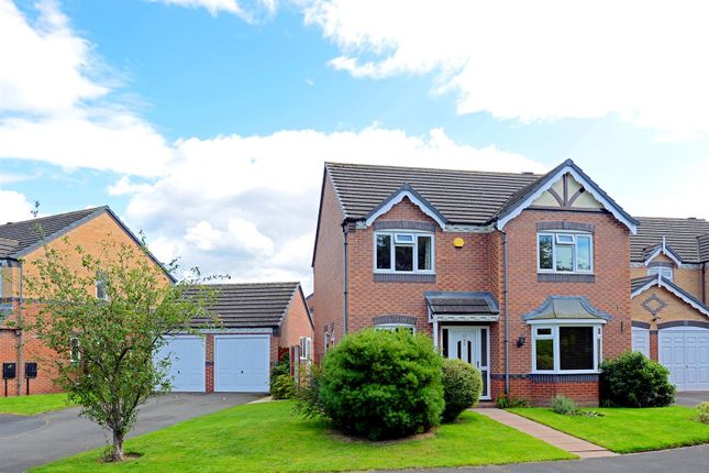 Thumbnail Detached house for sale in Broad Haven Close, Shrewsbury