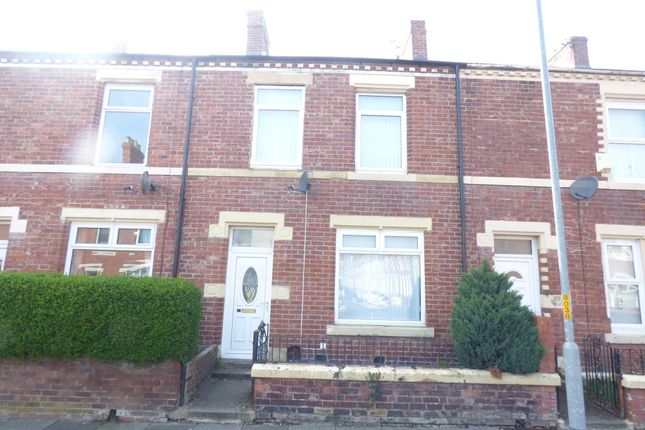 Thumbnail Terraced house to rent in Coomassie Road, Blyth
