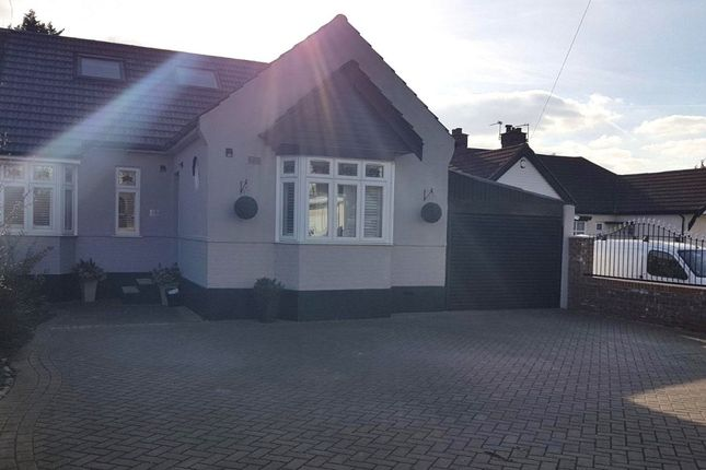 Thumbnail Semi-detached bungalow for sale in Park Drive, Marshalls Park, Romford, London