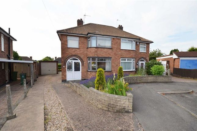 Thumbnail Semi-detached house for sale in Fieldhurst Avenue, Braunstone, Leicester