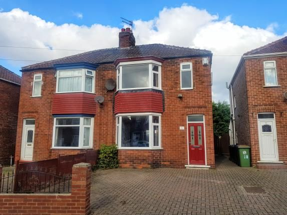 Thumbnail 3 bed semi-detached house for sale in Grinkle Road, Redcar, North Yorkshire