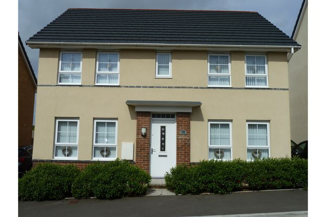 Thumbnail Detached house for sale in Horizon Way, Loughor