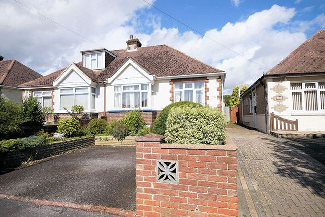 Thumbnail Semi-detached bungalow for sale in The Crossway, Portchester, Fareham