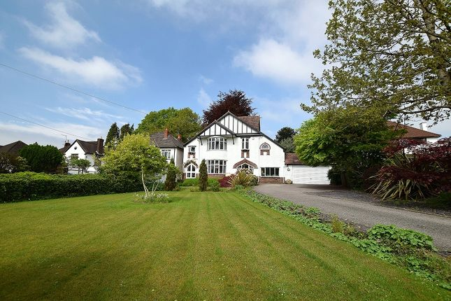 Thumbnail Detached house for sale in West Winds Pantmawr Road, Rhiwbina, Cardiff.