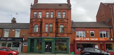 Thumbnail Retail premises for sale in The Bank 13-15 Nantwich Road, Crewe, Cheshire