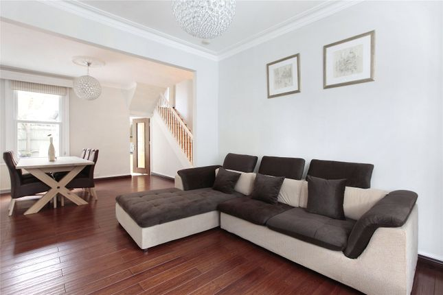 Thumbnail End terrace house to rent in Patience Road, Battersea, London
