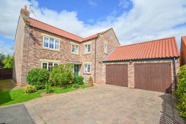 Thumbnail Detached house for sale in Orchard Close, Kirby Misperton, Malton