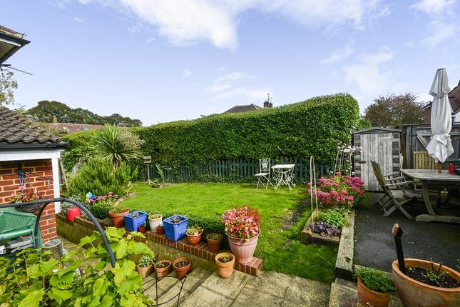 Garden of St. Leonards Road, Epsom, Surrey. KT18