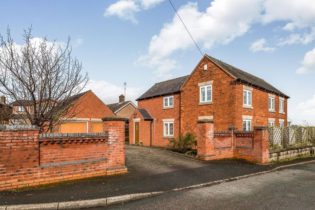 Thumbnail Detached house for sale in Broomyclose Lane, Stramshall, Uttoxeter