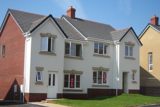 Thumbnail Semi-detached house for sale in Pentre Felin, Tondu, Nr Bridgend, South Wales
