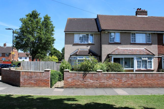 Thumbnail Semi-detached house for sale in Rushdene Crescent, Northolt