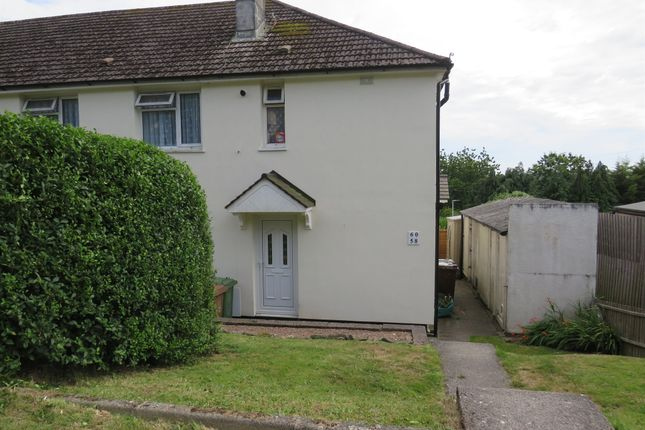 Thumbnail Flat for sale in Brentford Avenue, Whitleigh, Plymouth