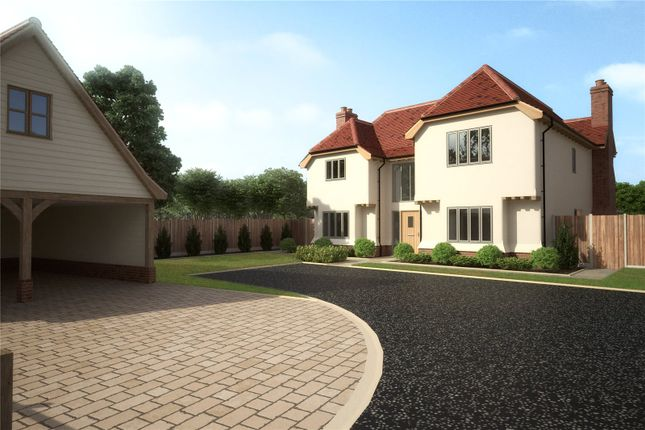 Thumbnail Detached house for sale in Pastures Close, Whiteditch Lane, Newport, Essex