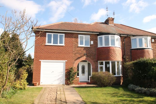Thumbnail Semi-detached house to rent in Stoops Road, Bessacarr, Doncaster