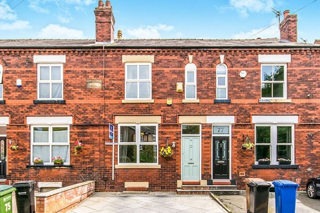 Thumbnail Terraced house for sale in Moorland Road, Stockport