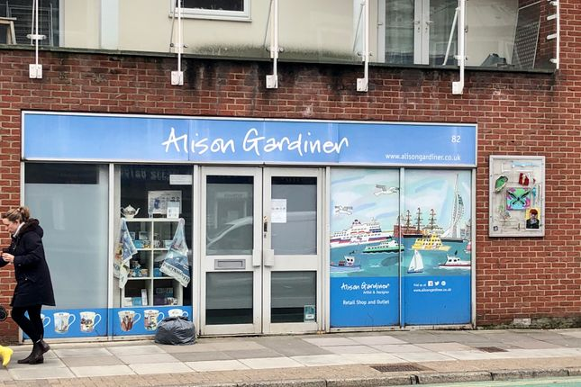 Thumbnail Retail premises for sale in 1 Ascot House, 82 Elm Grove, Southsea