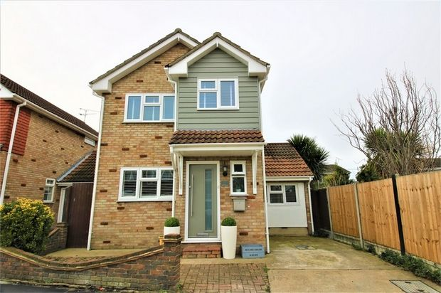 Thumbnail Detached house for sale in Eton Close, Canvey Island, Essex