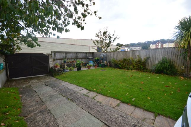Garden of Stentaway Road, Plymouth, Devon PL9