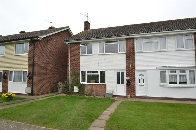Thumbnail Semi-detached house for sale in Larkfield Road, Great Bentley, Colchester, Essex