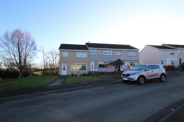 Thumbnail Terraced house to rent in Merrick Drive, Stonehouse, Larkhall